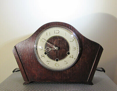 Vintage Mantel clock Smiths Westminster Chimes