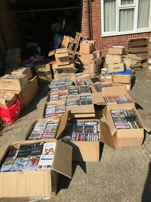 Bulk DVD's, Job Lot, New, used, Region 1, boxsets, BluRay - 1,200-1,500 items