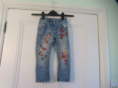 18-24m: Lovely embroidered blue denim jeans: Slim/skinny fit: NEXT: Combine post