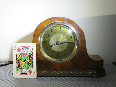 Small Antique 8 day Mantel clock Wuttenburg Germany