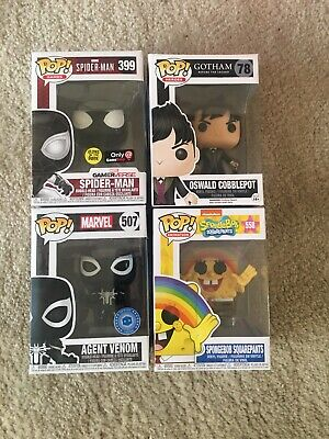 Funko Pop! Marvel - Agent Venom #507 Exclusive Lot
