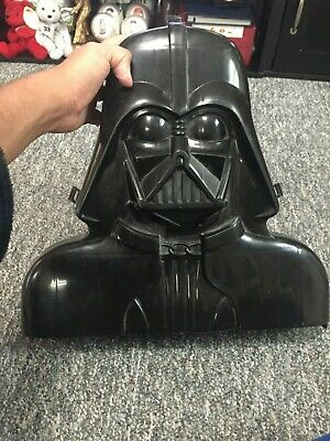 1980 Vintage Star Wars Darth Vader Action Figure Carrying Case storage container