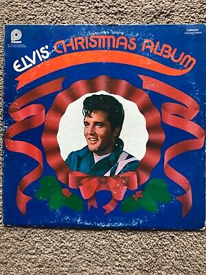 Elvis Presley Christmas Album CAS-2428 Stereo Pickwick/RCA Records