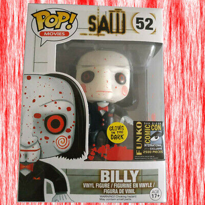 Funko POP Movies SAW Bloody Billy Custom #52 2014 Comic-Con Exclusive