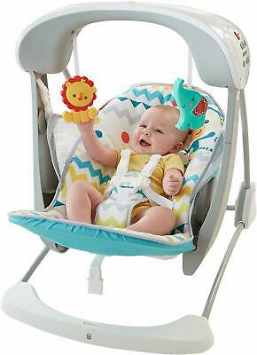 Fisher-Price Baby Infant Colourful Carnival Take-Along Swing Seat w/ 12 Songs