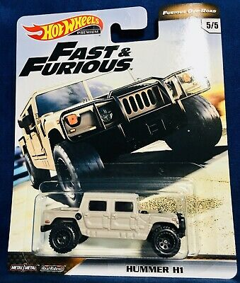 2019 Hot Wheels Premium Fast And Furious Off Road Hummer H1