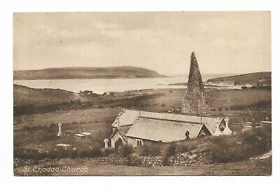 Rock, Cornwall - St Endoc Church Early 20th Century Postcard 29R