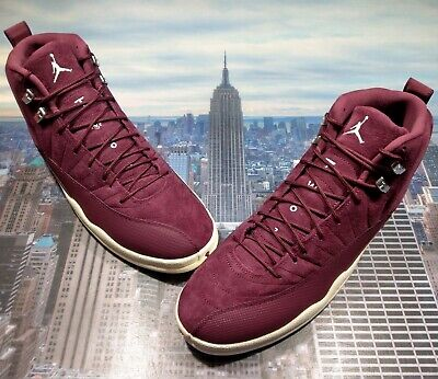Nike Air Jordan XII 12 Retro Bordeaux/Sail Mens Size 17 160390 617 New
