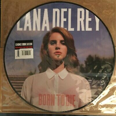 Lana Del Rey Born To Die Picture Disc Vinyl Lp RSD Rare. New. Never Played. NFR