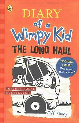 Diary of a Wimpy Kid: the Long Haul (book 9) by Jeff Kinney Paperback Book Free