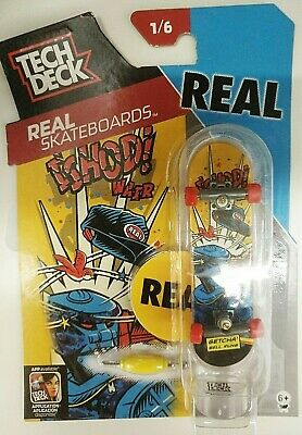 Tech Deck Real Skateboarders Fingerboard REAL - Brand New - Rare