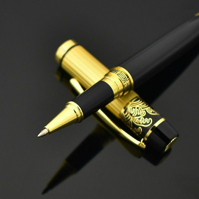 Business Luxury Metal Roller Pen Ballpoint Writing Office Gifts School Gift Ball