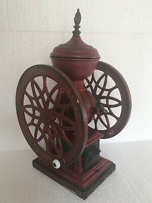 Antique Coffee Grinder SWIFT #12 MILL Cast Iron Lane Brothers Poughkeepsie NY