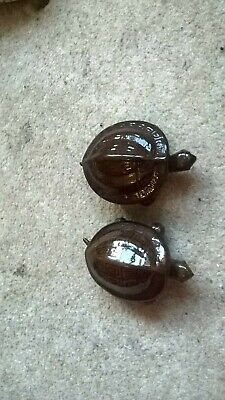 2 x tortoise ornaments -  made in China