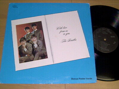 Lp / Beatles With Love From Us To You Boot Board Bootleg Limited Edition Series