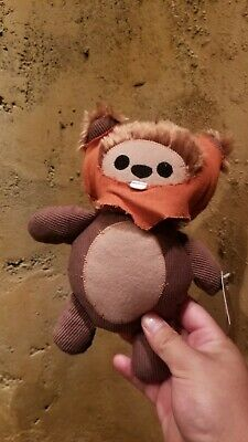 Star Wars Galaxys Edge Ewok Cute Plush Doll Toydarian Toymaker Disneyland Disney