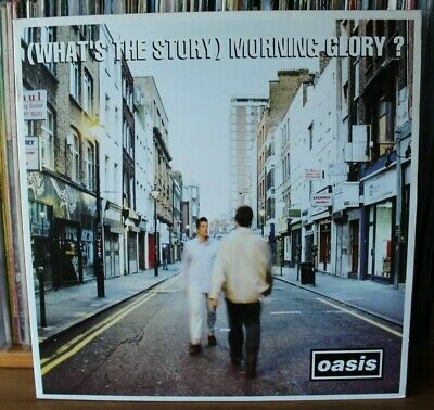 Oasis (WHAT'S THE STORY) MORNING GLORY? double vinyl 1st edition '95 CRE LP189