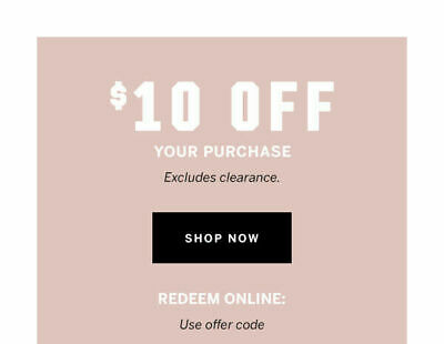Victoria Secret  coupon $10 of a purchase in store exp. 11/24/2019