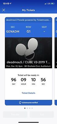 Deamau5 For Sale...Sell For Original Price.$65 Per Ticket