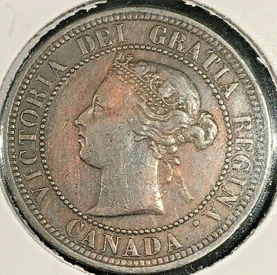 1882 H Canada Large One Cent From A Huge 'Collection' *Keep Following Us*