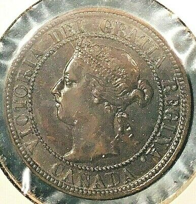 1896 Canada Large One Cent 'Far 6' From A Huge 'Collection' *Keep Following Us*