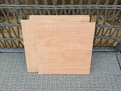 Plywood Offcuts 300 By 300 6Mm X10