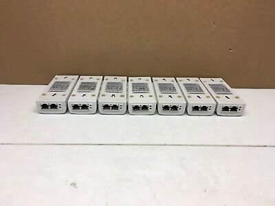 QTY 7x Lot of Shoretel PowerDsine 3001 PD-3001//AC Gigabit PoE Injector