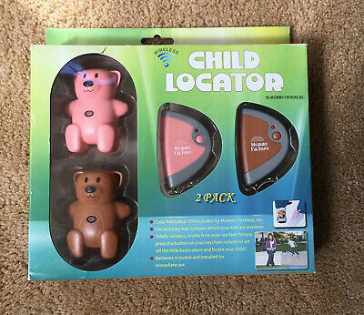 Mommy I'm Here, Child Locator Brown & Pink, 2 Pack