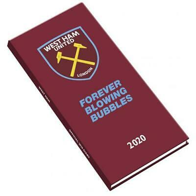 West Ham United FC Pocket Diary 2020 Official Merchandise Calendar