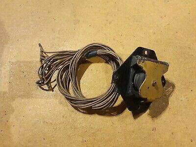 Land Rover Military Series Defender Nato Socket With Cover And Wiring Loom