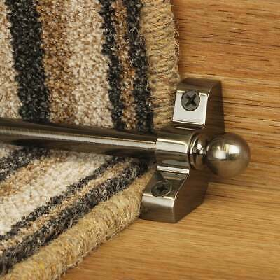 Pewter 76cm long Hollow Cheap High Quality Stair Rod - pack of 3