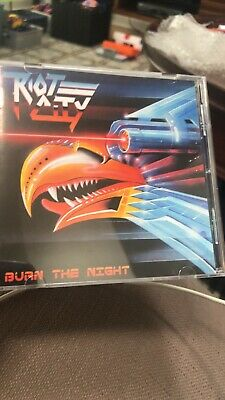Riot City-Burn The Night (UK IMPORT) CD Armored Saint Picture
