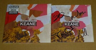 Keane : Cause And Effect - Signed Deluxe CD Album, Limited Edition, In Stock