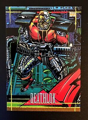 1993 Marvel Universe IV DEATHLOK #0 CBPG PROMO Card +She Hulk, Conan and more
