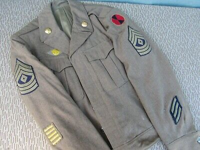 WWII 2nd Division Enlisted Ike Jacket