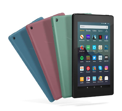 """Fire 7 Tablet (7"""" display, 32 GB)  2019 release - 9th gen with Free Case"""
