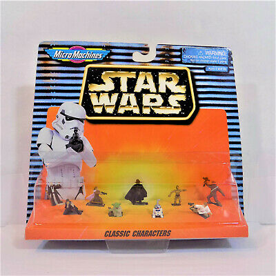 Star Wars Micro Machines Action Fleet IMPERIAL STORMTROOPERS Galoob 66080 1996
