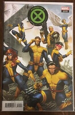 Powers of X #4 Molina Connecting Variant Marvel Comics NM House