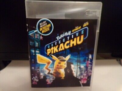 "Detective Pikachu ""2019"" (DVD & Digital) ""104 Minutes"" ""Read Detail's Below"""