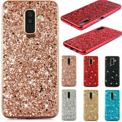 Slinicon Back Case For Samsung Note 10 Plus 5G A70 A50 S10 S8 Bling Glitter Skin