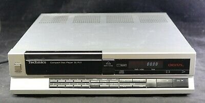 Vtg 1985 Technics Compact Disc CD Player SL-PJ1 -Single Disc
