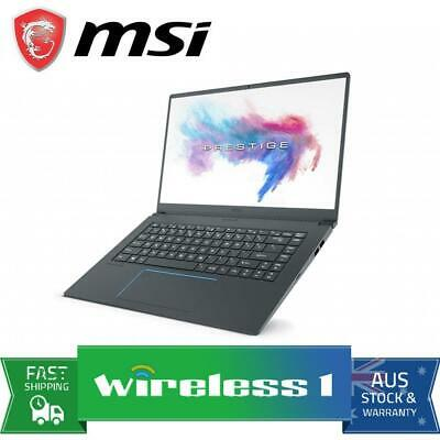 MSI PS63 Modern 8M-257AU 15.6in FHD i7-8565U UMA 8GB RAM 512GB SSD Laptop Grey