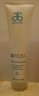 Arbonne FC5 Exfoliating Cell Scrub New 4 oz. Sealed , Discontinued