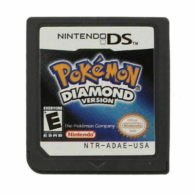 Pokemon: Diamond Version Nintendo DS Game Card Cartridges For 3DS NDSI NDS NDSL