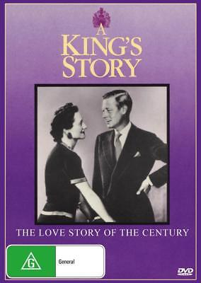 A King's Story  - Dvd - Free Local Post