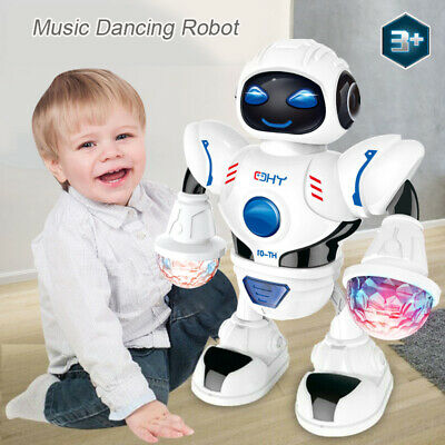 NEW For Boys Kids Music Dancing Robot for 3 4 5 6 7 8 9 10 Years Age Funny Gifts