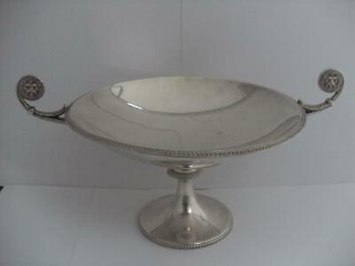 SUPERB STERLING SILVER TAZZA DISH Sheffield 1930 409.5g