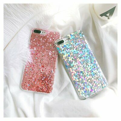 Bling Glitter Sparkly Silicone Cover Case For Samsung Galaxy S8 S9 S10 Plus A70