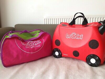Trunki bundle, Ladybird trunki plus brand new tidy bag