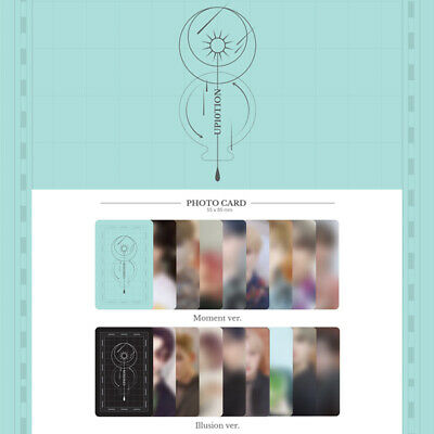 Up10Tion - The Moment Of Illusion Moment Ver. Illusion Ver. Photo Card